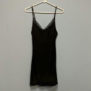 Calvin Klein Black Sleep dress, size M